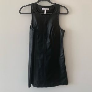 BCBGeneration Faux Leather Dress